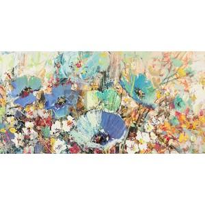 Luigi Florio - Campo di fiori in Primavera I (detail)