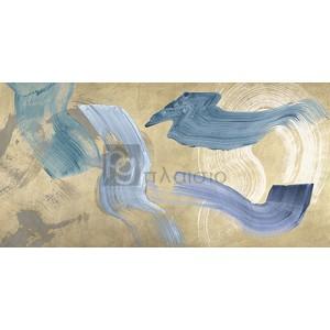 Haru Ikeda - Blue Waves on Gold