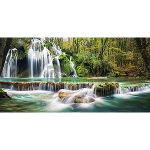 Pangea Images - Waterfall in a forest