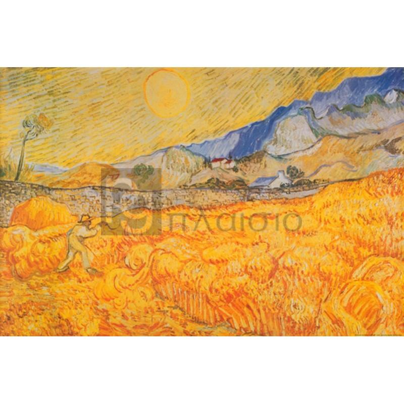 Vincent Van Gogh - Il mietitore