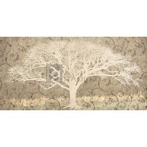 Alessio Aprile - Tree on a Grey Brocade