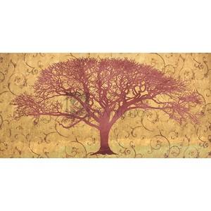 Alessio Aprile - Tree on a Gold Brocade