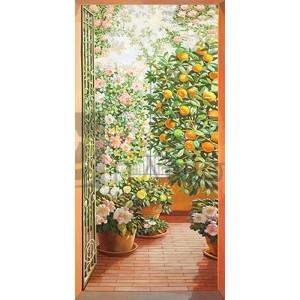 Andrea Del Missier - Porta sul terrazzo fiorito