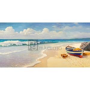 Adriano Galasso - Onde sulla spiaggia