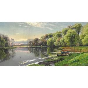 Peder Mork Monsted - The Mill Pond