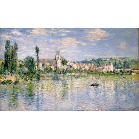 Claude Monet - Vetheuil in summer
