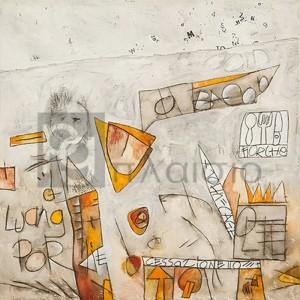 Vittorio Teruzzi - Senza titolo II (Cage & Bacon)