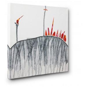 Vittorio Teruzzi - L'incendio sulla collina