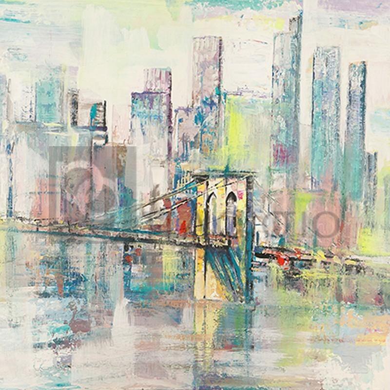 Luigi Florio - Mattino a Manhattan (detail)