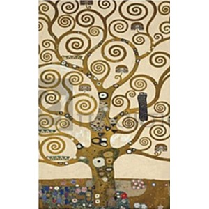 Gustav Klimt - The Tree of Life (part)