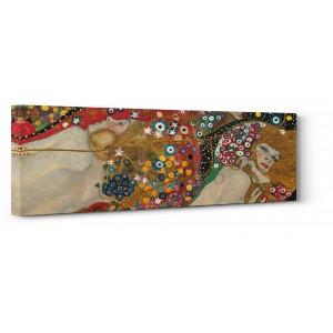 Gustav Klimt - Sea Serpents (detail)