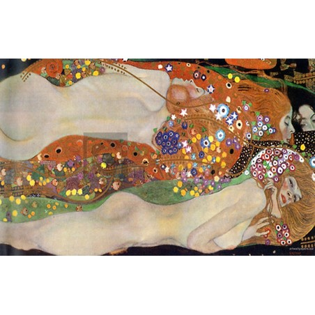Gustav Klimt - Sea Serpent