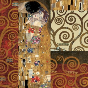 Gustav Klimt - Klimt Details (The Kiss)
