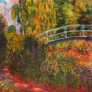 Claude Monet - Ponte giapponese