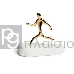Runner on Thassos Marble (Gold)