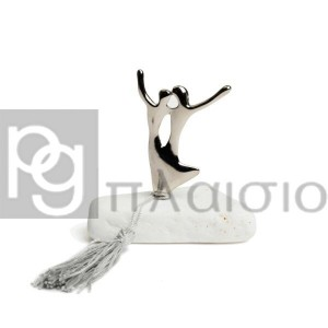 Decorative with the Dancers in Marble of Thassos (Silver)