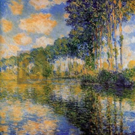 Claude Monet - Pioppi sulla riva dell' Epte