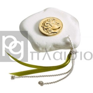 Decorative with Alexander in Marble of Thassos (Gold)