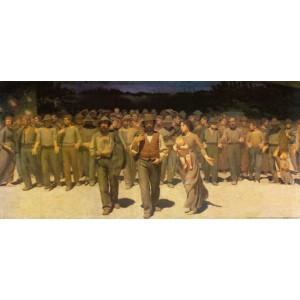 Pellizza da Volpedo Giuseppe - Il quarto stato