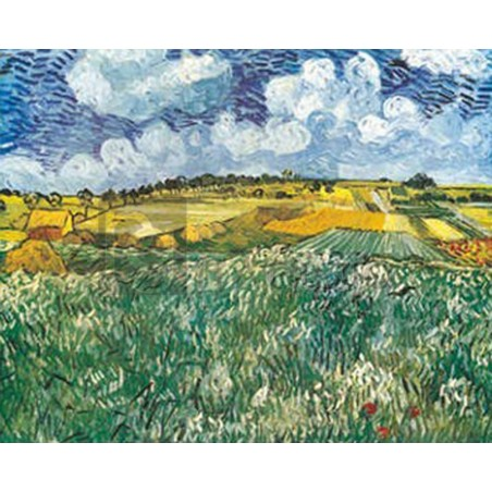 Vincent Van Gogh - Pianura vicino ad Auvers
