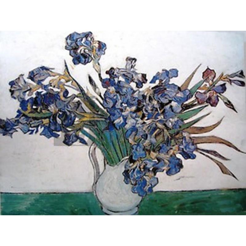 Vincent Van Gogh - Iris nel vaso