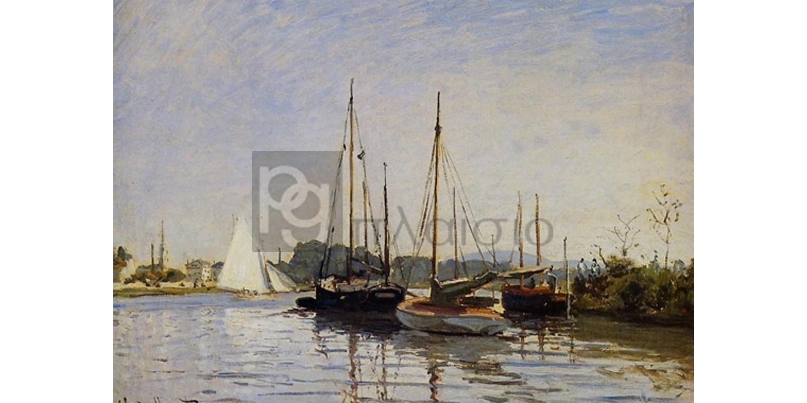 Claude Monet - Bateaux de plaisance