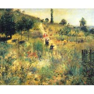 Renoir Pierre Auguste - Chemin montant dans les hautes herbes