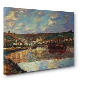 Claude Monet - Fin d' Apres-midi Vetheuil