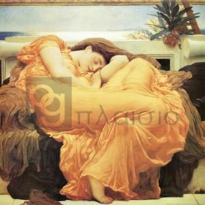 Frederic Leighton - Flaming June