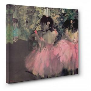 Degas Edgar Germain Hilaire - Ballerine in rosa