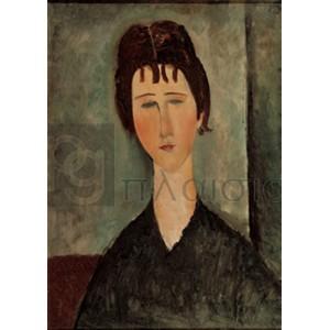 Modigliani Amedeo Clemente - La fanciulla bruna