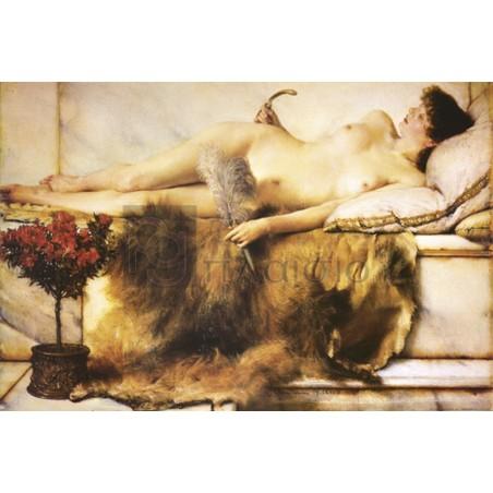 Alma – Tadema Lawrence - Dans le tepidarium