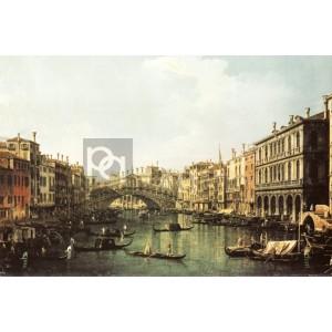 Canaletto - Ponte di Rialto