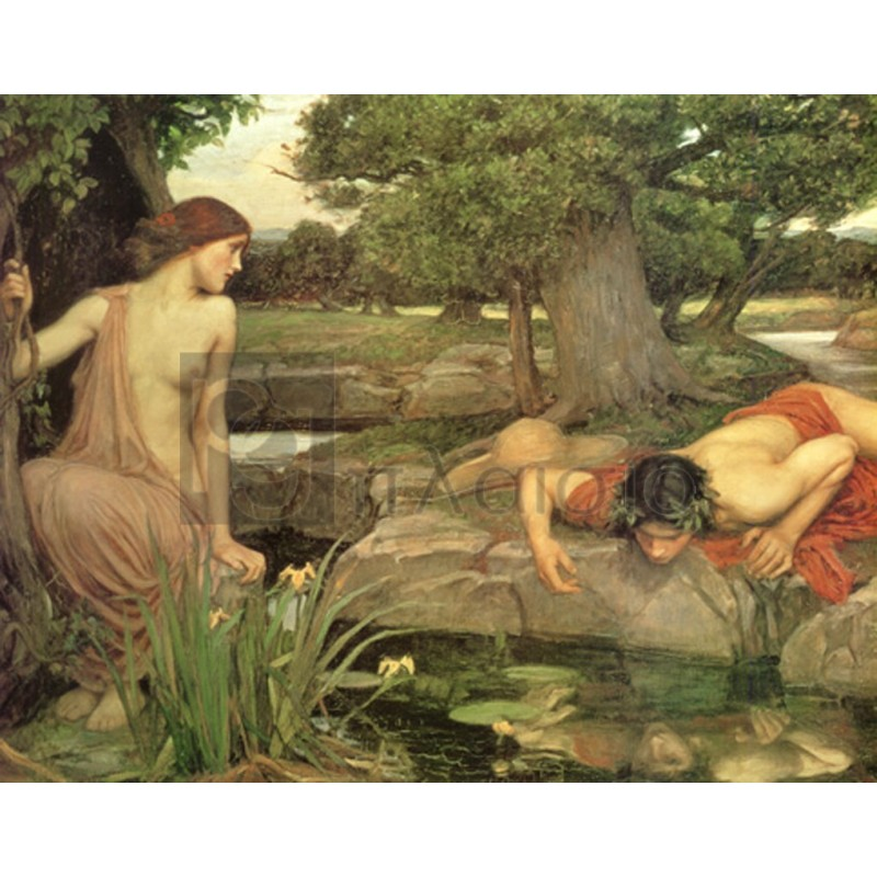 Waterhouse John William - Echo and Narcissus