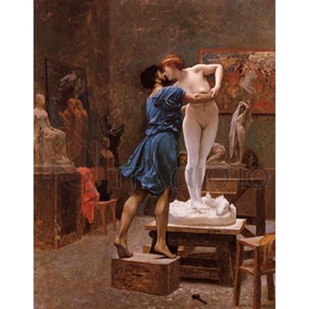 Gerome Jean-Leon - Pygmalion and Galatea