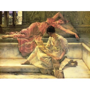 Alma – Tadema Lawrence - The favourite poet