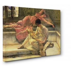 Alma – Tadema Lawrence - The favourite poet