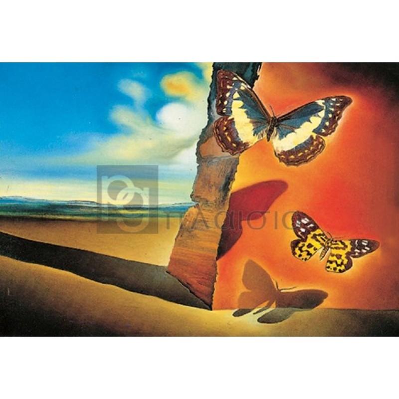 Salvador Dali - Paysage aux papillons
