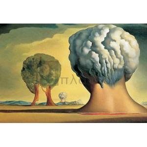 Salvador Dali - Le trois sphinx de bikini