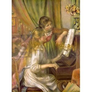 Renoir Pierre Auguste - Jeunes filles au piano