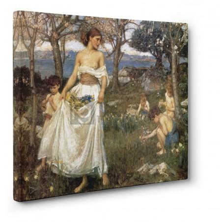 Waterhouse John William - A song of springtime