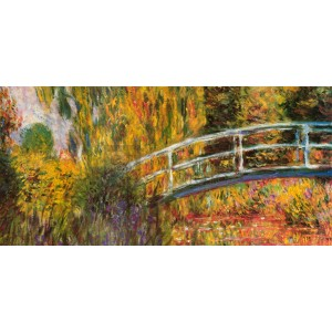 Claude Monet - Ponte giapponese (part)