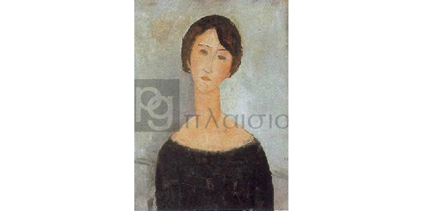 Modigliani Amedeo Clemente - Donna in nero