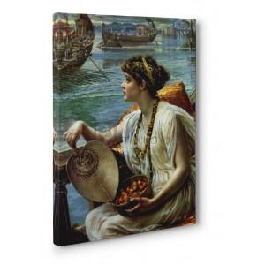 Poynter Edward John - A Roman boat race