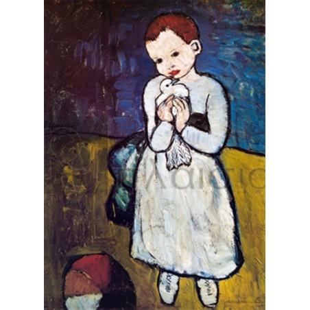 Pablo Picasso - L' enfant au pigeon