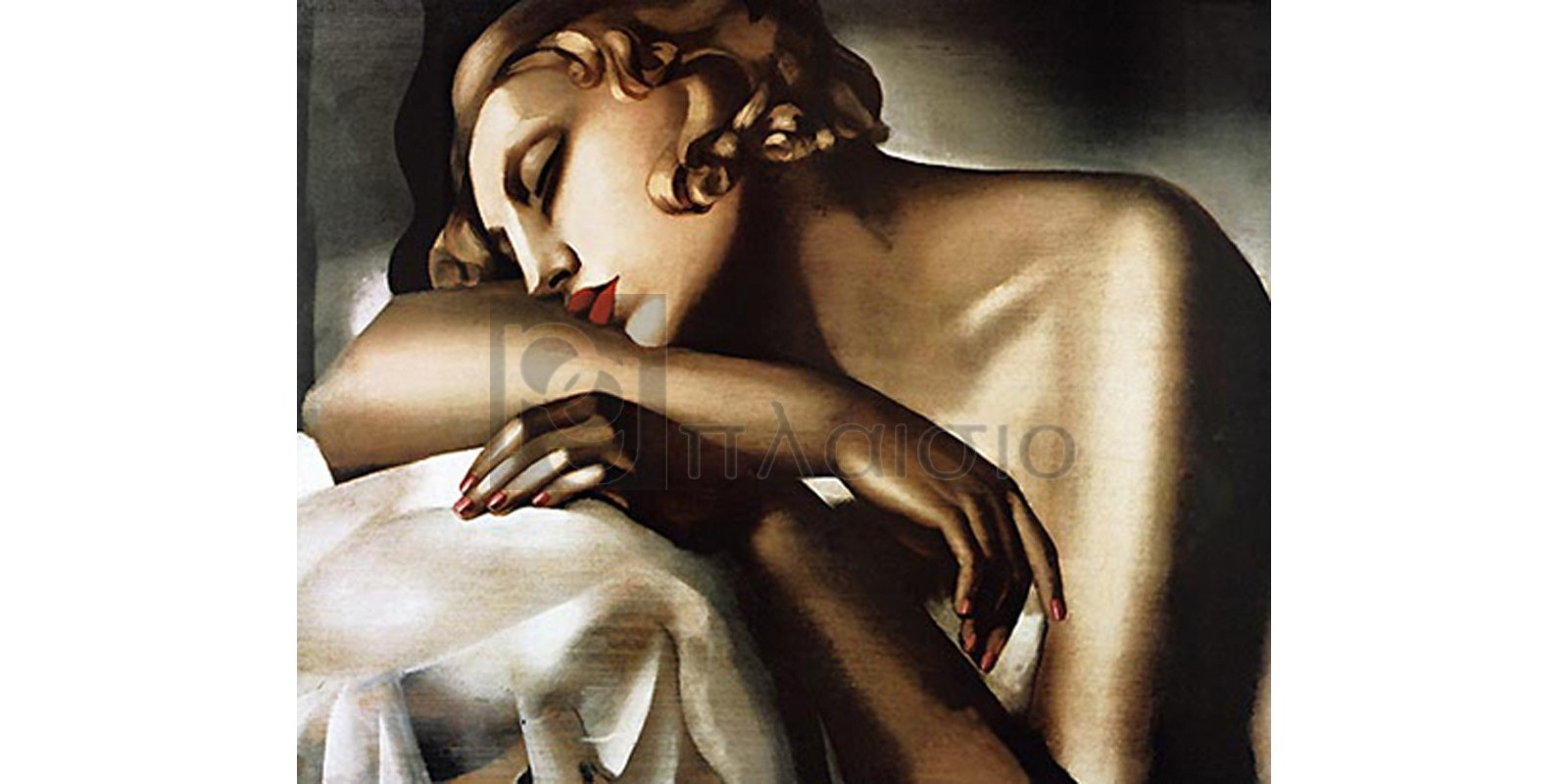Tamara de Lempicka - Dormeuse, 1931-32