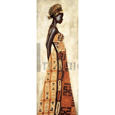 Jacques Leconte - Femme Africaine I