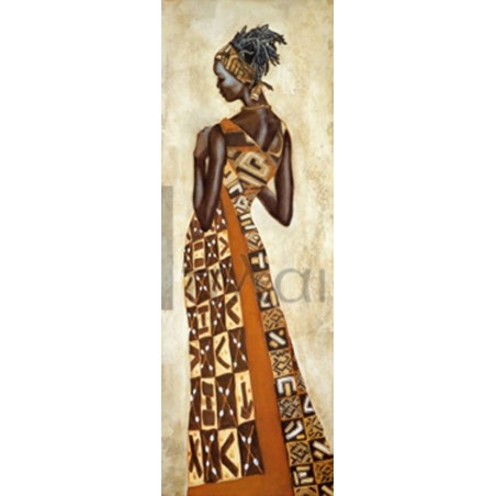 Jacques Leconte - Femme Africaine II