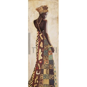 Jacques Leconte - Femme Africaine III