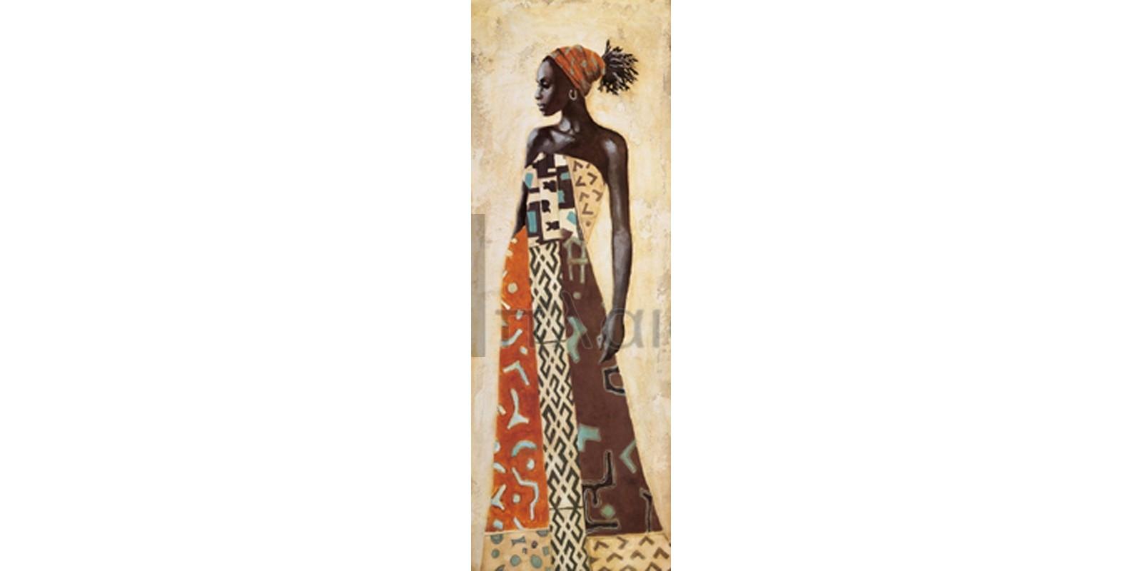 Jacques Leconte - Femme Africaine IV
